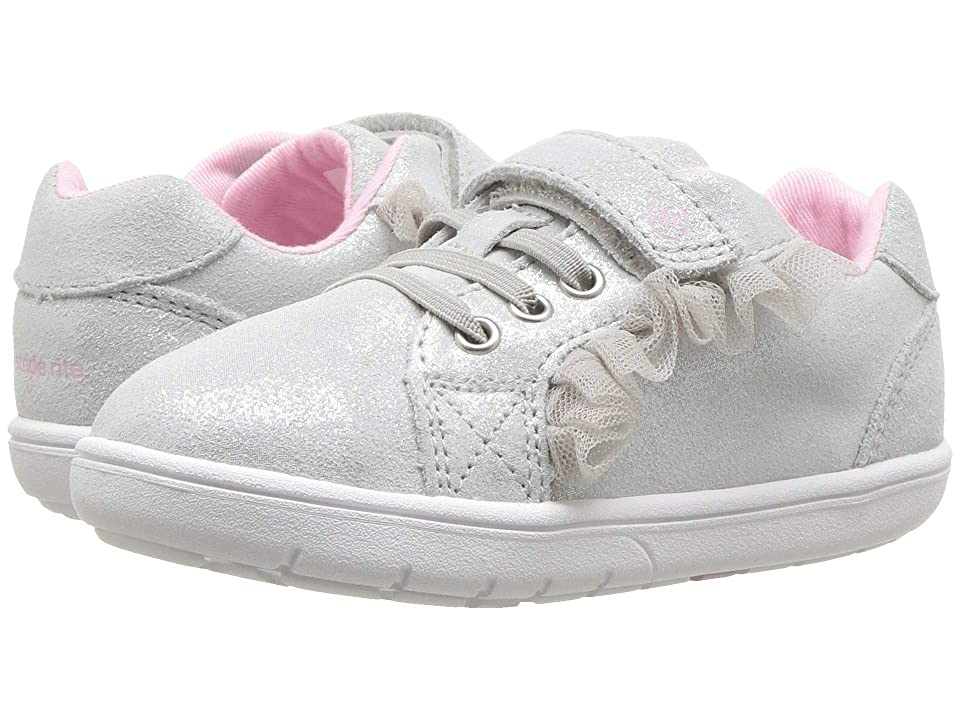 Stride Rite SRT Nora (Toddler) (Silver Leather) Girls Shoes