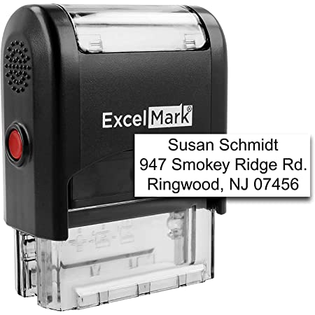 PrintValue Renewal Text Self Inking Rubber Stamp Business Custom ...