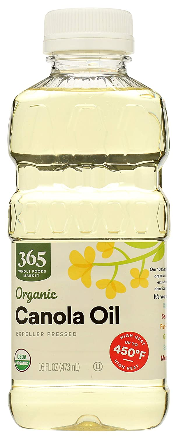 365 by WFM Bombing new work Oil Cooking 16 Canola Import Oz Organic Fl