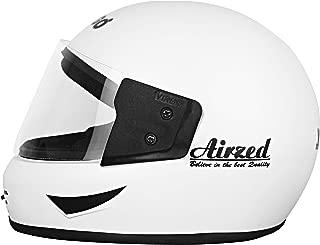 Virgo Matt finish Clear Visor Airzed Helmet , White