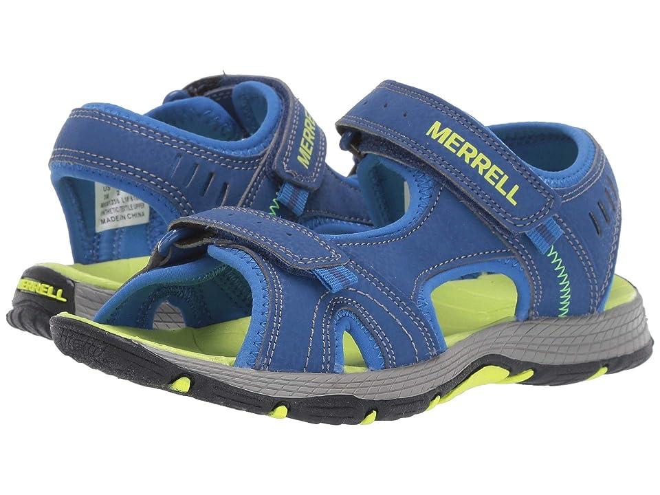 Merrell Kids Panther Sandal (Toddler/Little Kid/Big Kid) (Blue/Green) Boys Shoes
