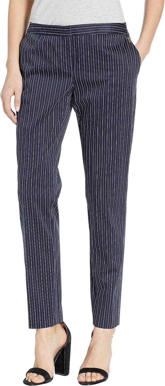 Tommy Hilfiger Menswear Stripe Slim Ankle Pants Midnight 2
