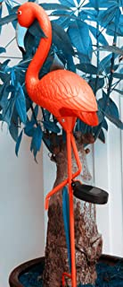 Hi9ピンクフラミンゴソーラーライト庭園芝生花園装飾品 (1)