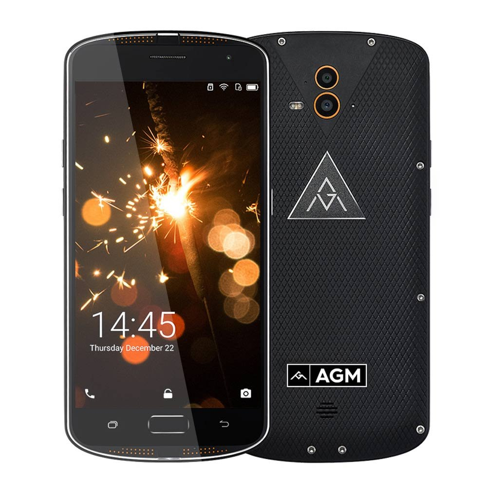 AGM X1 Smartphone 4G IP68 Impermeable Antigolpes Anti-Polvo 4GB ...
