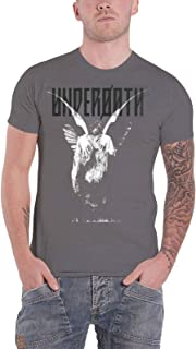 T Shirt Erase Me Album Band Logo Official Mens Grey