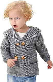 Baby Boy Cardigan Sweater Cartoon Hoodies Long Sleeve Coats