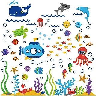 Under the Sea Submarine Nursery Wall Sticker Decals