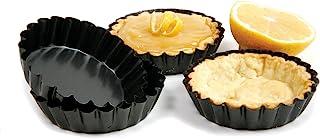 Norpro Non-Stick Tartlet Pans, Set of 4, Metallic
