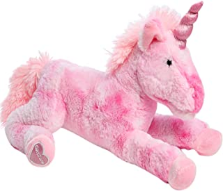 Best GirlZone Stuffed Pink Plush Unicorn for Girls, Large-18 Inches, Glitter Horn, Great Birthday Gift Idea Reviews