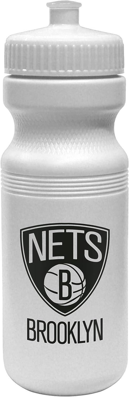 NBA Brooklyn Nets Opaque Squeeze Water Bottle, 24Ounce