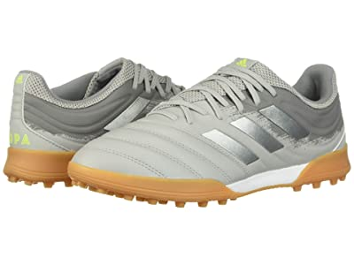 adidas Copa 20.3 TF (Grey Two F17/Silver Metallic/Solar Yellow) Men