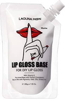Lip Gloss Base of 200ml (7.05oz)by LAGUNAMOON,Easy-to-mix Versagel Lip Gloss Base with Great Consistancy,Non-sticky Matte ...