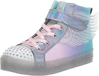 Skechers Kids' Shuffle Brights-Sparkle Wings Sneaker