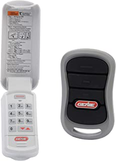 Genie Genuine Accessories Bundle - Combo Pack 3-Button Garage Door Opener Remote and Wireless Keypad - Works on Genie Intellicode Garage Door Openers - Model G3T-R, and GK-R