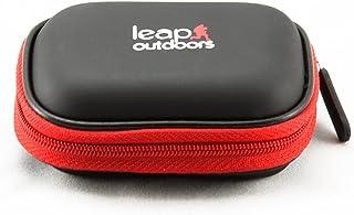 حقيبة تخزين بطاقات ذاكرة SD SDHC مقاومة للطقس من Leap Outdoors لتخزين الصور الفوتوغرافية وقارئ بطاقات الكاميرا و12 بطاقة S...