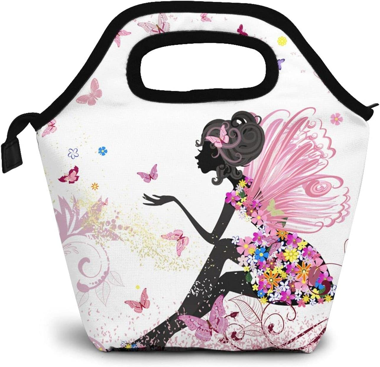 African American service Girl Lunch Ultra-Cheap Deals Bag Reusable Tote Thermal Insulated