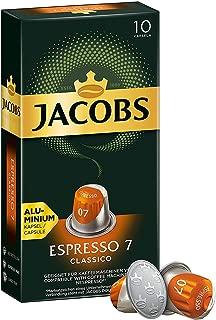 Jacobs Espresso 7Classico, Nespresso Compatible Coffee Capsules, Pack of 10