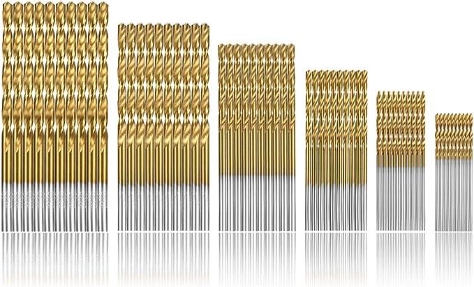 301 opinioni per Camtek 120 Pezzi punte per trapano Micro Punte Metrico HSS ad alta velocit in