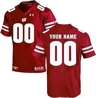 Youth Custom Wisconsin Badgers Jersey