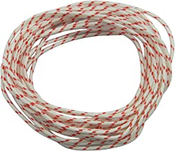 Hipa Recoil Starter Rope 10-Meter (Diameter: 3.0mm) Pull Cord for Husqvarna STHIL Sears Craftsman Poulan Lawn Mower Chainsaw Trimmer Edger Brush Cutter Engine Parts