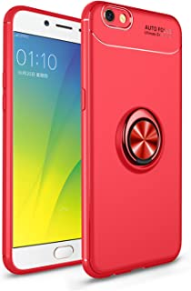 Jardire Fundas Compatibles para OPPO F3 Plus Rojo, Flexible