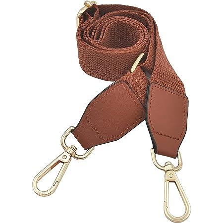 Verstellbarer Schultergurt Taschengurt Schulterriemen Umhängegurt für Schultertasche Tragetaschen und Handtaschen Breit 40mm -Streifen 75-135cm
