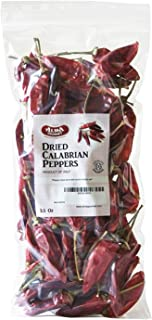 Alma Gourmet Dried Calabrian Chili Peppers Whole | 100 Gram | 3.5 Ounce