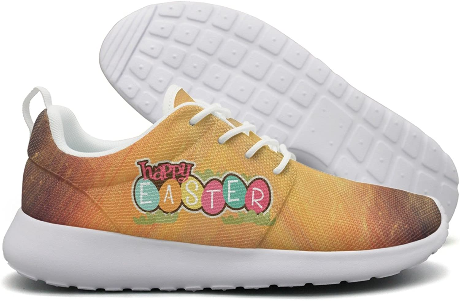 Happy Easter Day 2018 Womens Flex Mesh Womans Running shoes