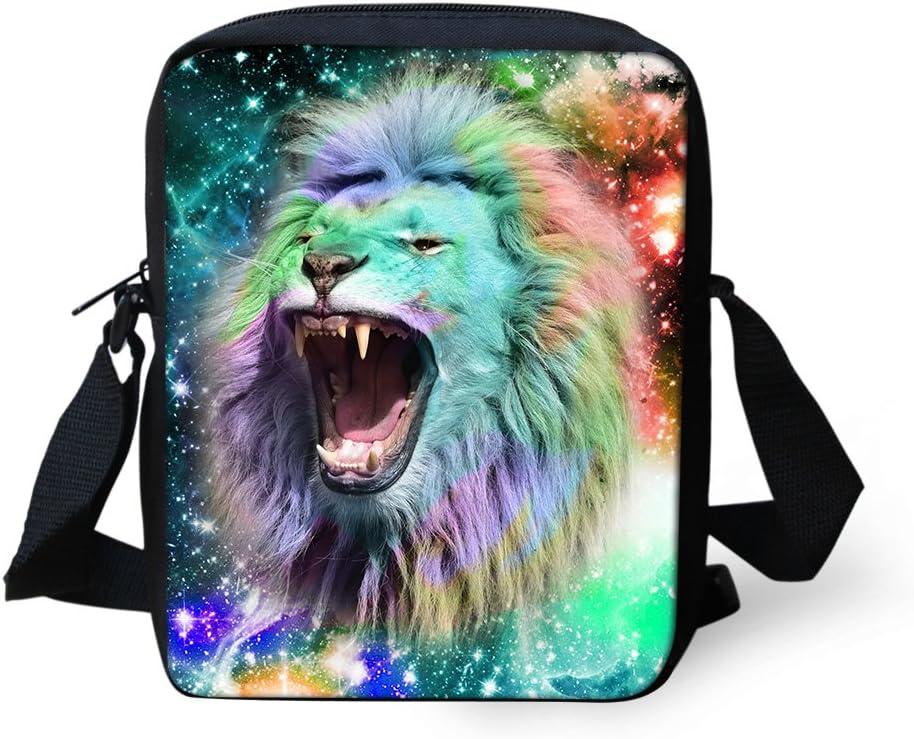 overseas UNICEU Outdoor Travel Casual Galaxy U Lion Bag Pattern Crossbody Indefinitely