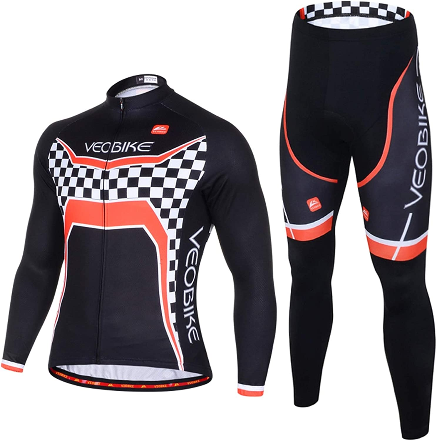 Epinki Men Spring Autumn Summer Cycling Jersey for Outdoor and Multi Sports Cyclist Shirts and Tights