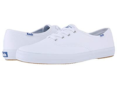 Keds Champion-Canvas CVO (White Canvas) Women