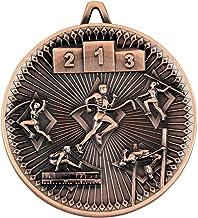 """Lapal Dimension Atletiek Deluxe Medaille - Brons 2.35"""""""