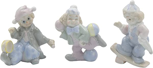 Cosmos Mini Clown Set Of 3