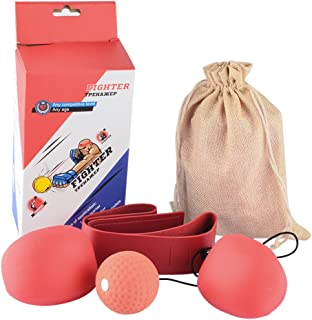 featured product RAVPump Punching Ball Boxing Speed Reflex Ball Set Speed Agility Training Gym Equipment
