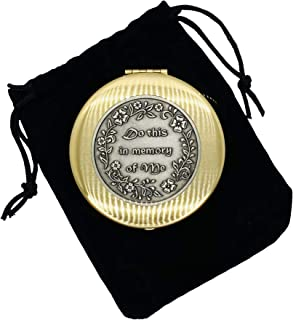 JWG Industries Do This in Memory of Me PYX 2 1/2 x 1/2 Inch