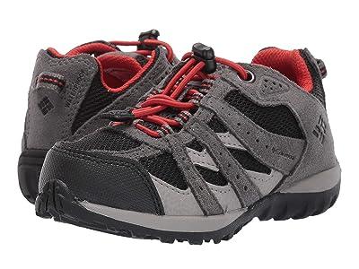 Columbia Kids Redmond Waterproof (Toddler/Little Kid) (Black/Flame) Boys Shoes