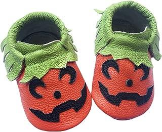 Baby Soft Leather Shoes Infant Toddler First Walking Prewalker