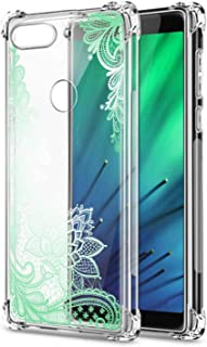 Oihxse Cristal Compatible con Huawei Nova 6SE/P40 Lite/Nova 7I Funda Transparente TPU Silicona Estuche Airbag Esquinas Ant...