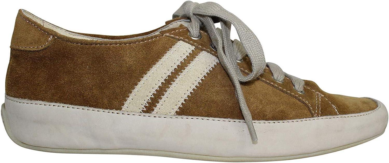 Emma Hope's shoes Womens Joe Sneaker Met Crosta Silver, Tan 37.5, 38, 38.5, 39, 39.5
