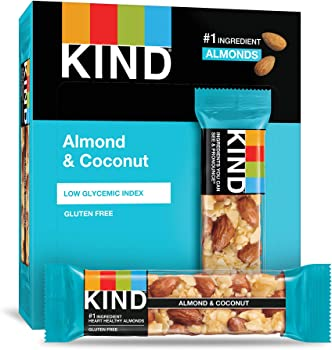 12 Count KIND Fruit & Nut Nutrition Bars Almond & Coconut 1.4oz