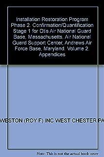 Installation Restoration Program Phase 2. Confirmation/Quantification Stage 1 for Otis Air National Guard Base, Massachusetts, Air National Guard Support Center, Andrews Air Force Base, Maryland. Volume 2. Appendices