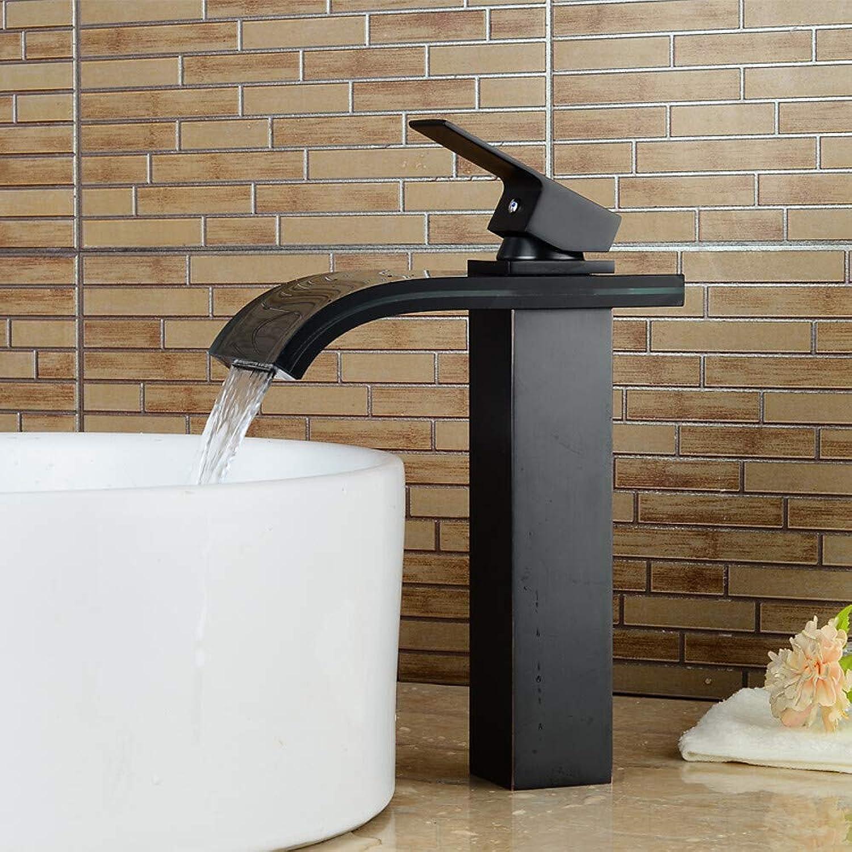 Waschbecken Wasserhahn Vorspülen Wasserfall Verbreitet Nickel Gebürstet Einhand Zwei Lcher 2
