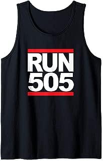 Run 505 Albuquerque NM Vintage Running Tank Top