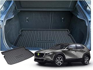 RUIYA Mazda CX 30 Kofferraumwanne Kofferraummatte Schalenmatte Angepasst Cargo Liner hinten【Schwarzer】