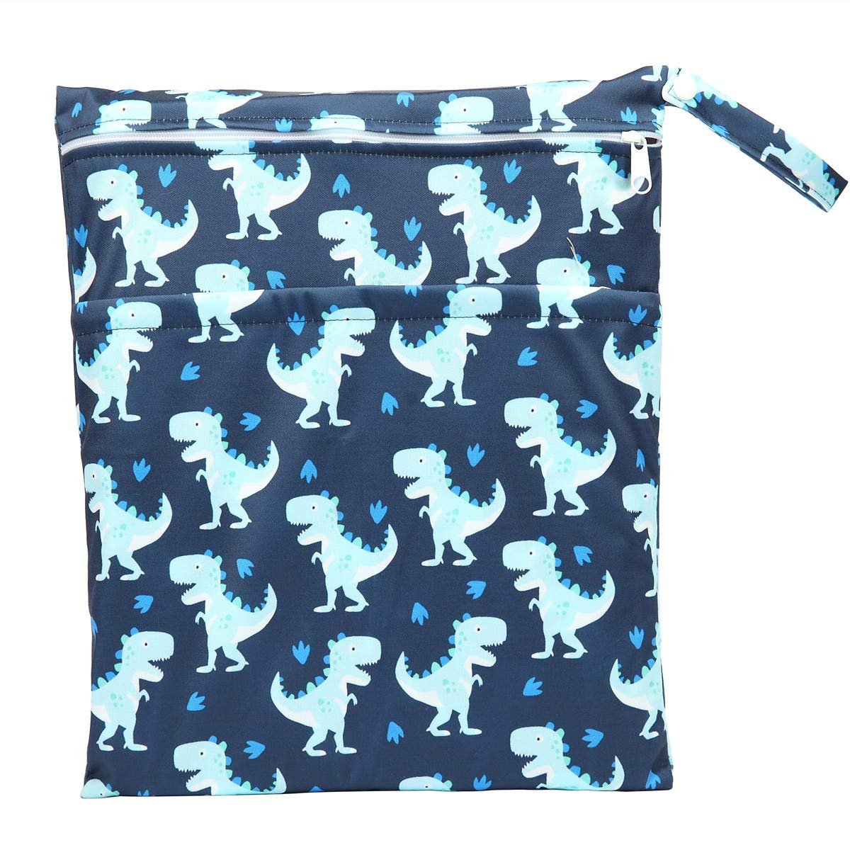 Wet Bag Baby Cloth Diaper Nappy Insert Reusable Two Tulsa Mall With Zip Great interest