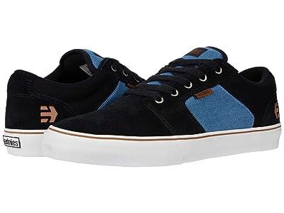 etnies Barge LS (Black/Blue/Black) Men