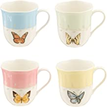 Lenox Butterfly Meadow Mug Set of 4 White Dinnerware - 773903