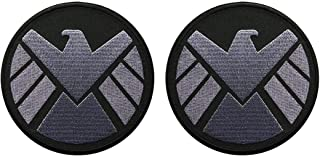 Avengers Movie Shield Logo Costume Shoulder Patch Set of 2 (3.5 INCH - AV-7)
