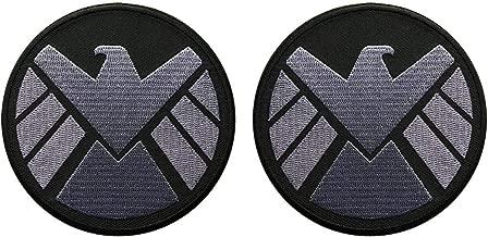 Avengers Movie Shield Logo Costume Shoulder Patch Set of 2 (3.5 INCH - AV-7)