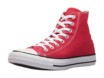 Converse SINGLE SHOE Chuck Taylor(r) All Star(r) Core Hi (Red) Shoes